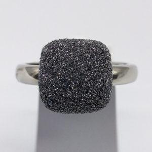 Bague poussière de diamants