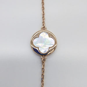Bracelet nacre blanche