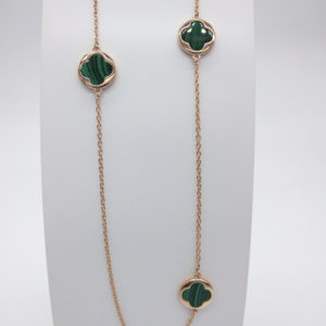 Collier malachites