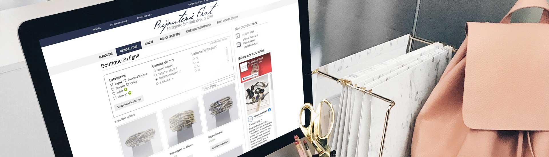 Boutique en ligne Frot